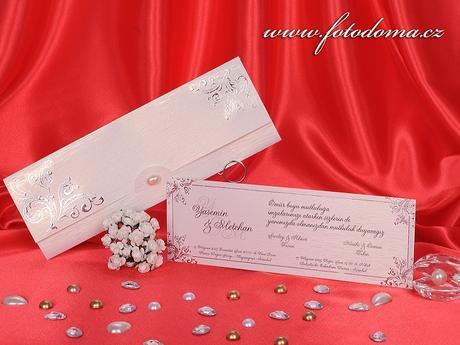 Svatební oznámení 3208 www.fotodoma.cz,