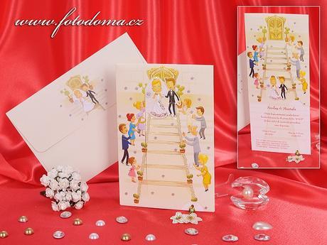 Svatební oznámení 3219 www.fotodoma.cz,