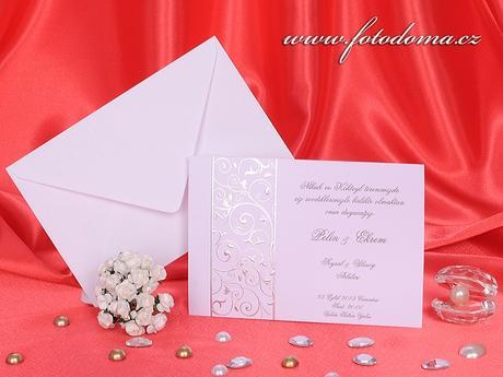 Svatební oznámení 3224 www.fotodoma.cz,