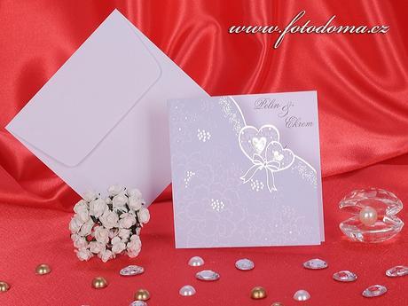 Svatební oznámení 3235 www.fotodoma.cz,