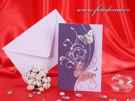 Svatební oznámení 3238 www.fotodoma.cz,