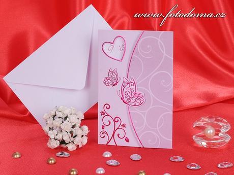 Svatební oznámení 3239 www.fotodoma.cz,