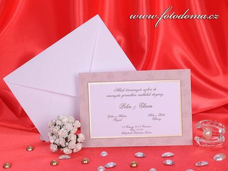 Svatební oznámení 3243 www.fotodoma.cz,