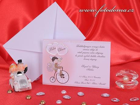 Svatební oznámení 3246 www.fotodoma.cz,