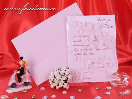 Svatební oznámení 3253 www.fotodoma.cz,