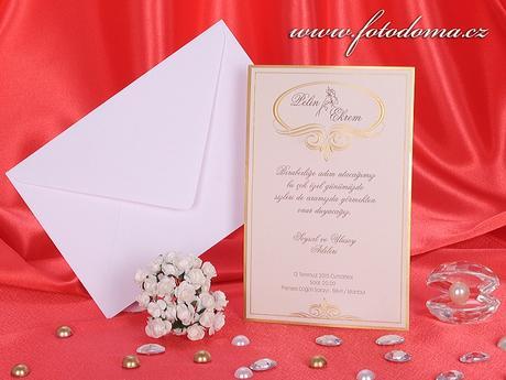 Svatební oznámení 3254 www.fotodoma.cz,