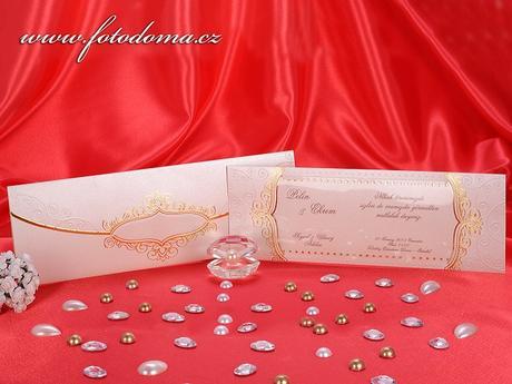 Svatební oznámení 3256 www.fotodoma.cz,