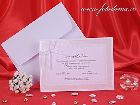 Svatební oznámení 3260 www.fotodoma.cz,