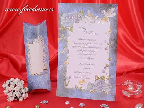 Svatební oznámení 3274 www.fotodoma.cz,