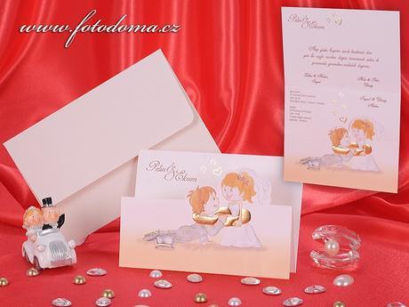 Svatební oznámení 3283 Mottak.cz s.r.o.,