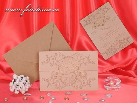 Svatební oznámení 3285 www.fotodoma.cz,