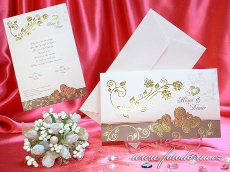 Svatební oznámení 3297 Mottak.cz s.r.o.,