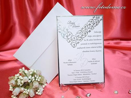 Svatební oznámení 3303 Mottak.cz s.r.o.,
