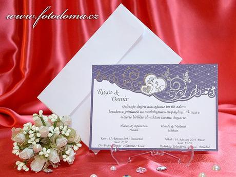 Svatební oznámení 3309 www.fotodoma.cz,