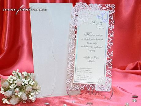 Svatební oznámení 3311 www.fotodoma.cz,