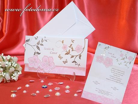 Svatební oznámení 3314 www.fotodoma.cz,