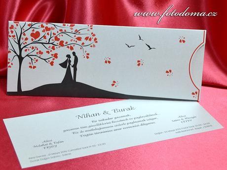 Svatební oznámení 3346 www.fotodoma.cz,