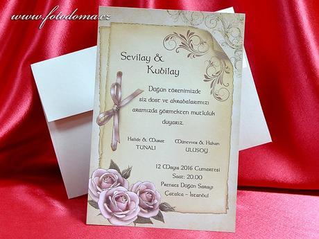 Svatební oznámení 3350 www.fotodoma.cz,