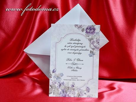 Svatební oznámení 3363 www.fotodoma.cz,