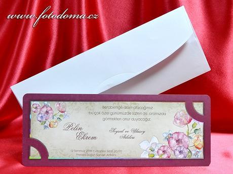 Svatební oznámení 3367 www.fotodoma.cz,