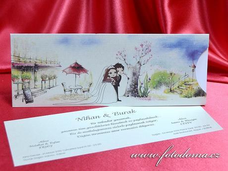 Svatební oznámení 3369 www.fotodoma.cz,