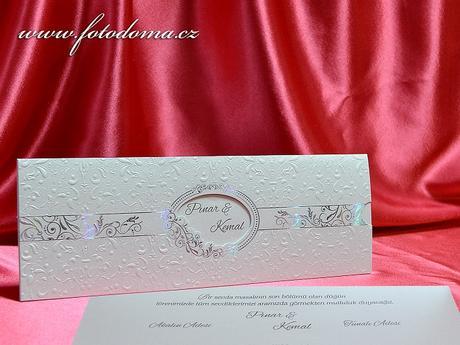 Svatební oznámení 3372 www.fotodoma.cz,