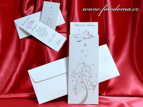 Svatební oznámení 3373 www.fotodoma.cz,
