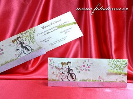 Svatební oznámení 3377 www.fotodoma.cz,