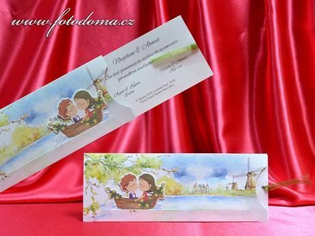 Svatební oznámení 3378 www.fotodoma.cz,