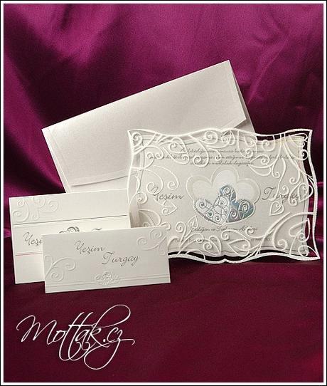 Svatební oznámení 3585 www.mottak.cz,