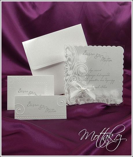 Svatební oznámení 3605 www.mottak.cz,