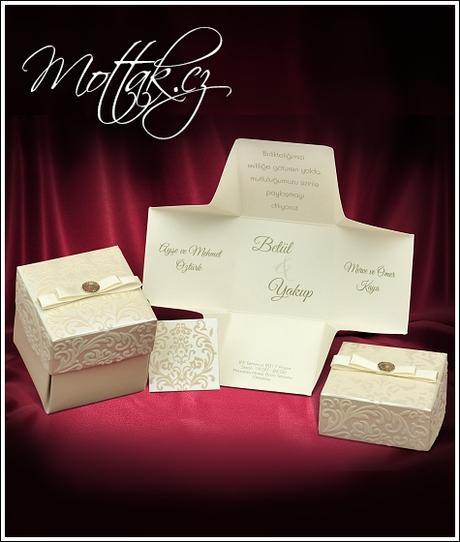 Svatební oznámení 3673 www.mottak.cz,