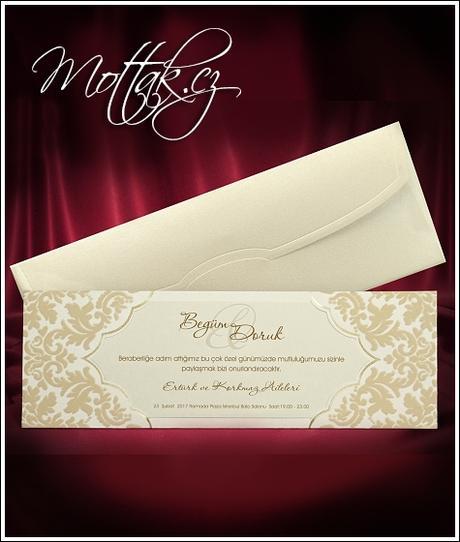 Svatební oznámení 3679 Mottak.cz s.r.o.,