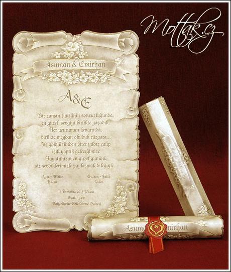 Svatební oznámení 5301 www.mottak.cz,
