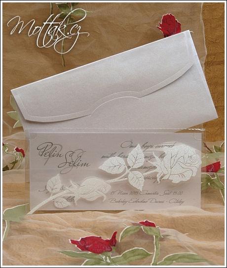 Svatební oznámení 5345 www.mottak.cz,