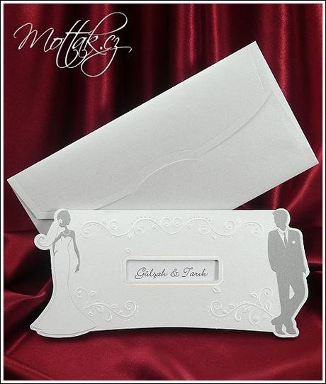 Svatební oznámení 5362 www.mottak.cz,