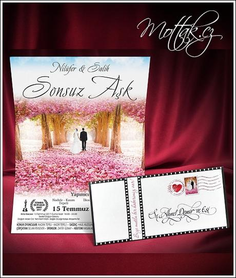 Svatební oznámení 5460 www.mottak.cz,