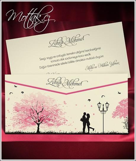 Svatební oznámení 5468 www.mottak.cz,