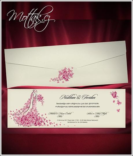 Svatební oznámení 5475 www.mottak.cz,