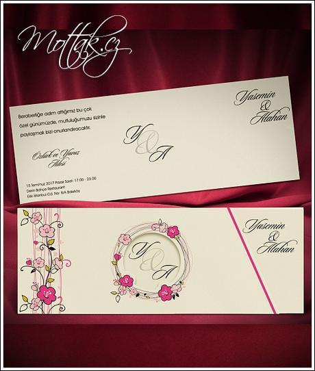 Svatební oznámení 5476 www.mottak.cz,