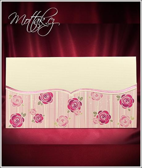 Svatební oznámení 5477 www.mottak.cz,