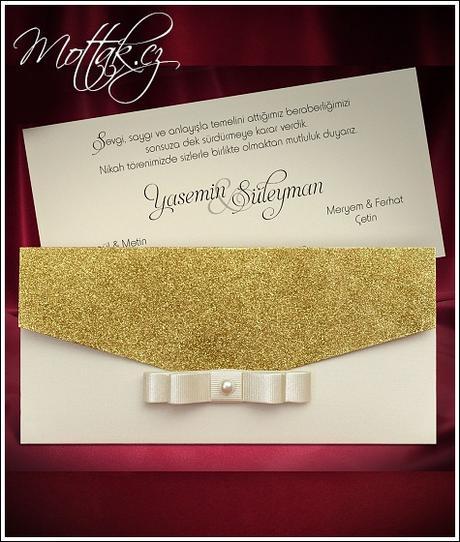 Svatební oznámení 5480 www.mottak.cz,