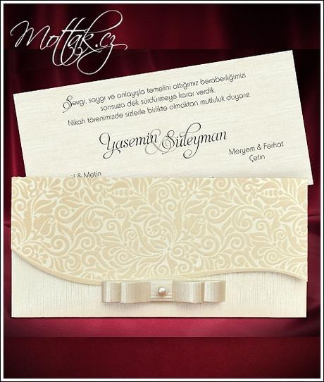 Svatební oznámení 5482 www.mottak.cz,