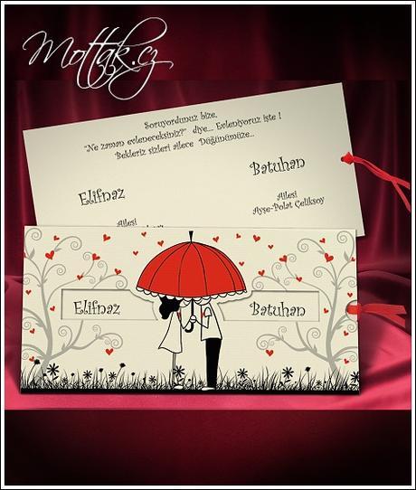Svatební oznámení 5484 www.mottak.cz,