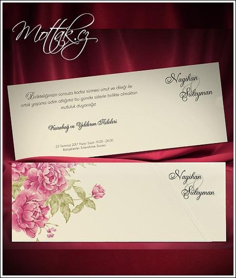 Svatební oznámení 5491 Mottak.cz s.r.o.,