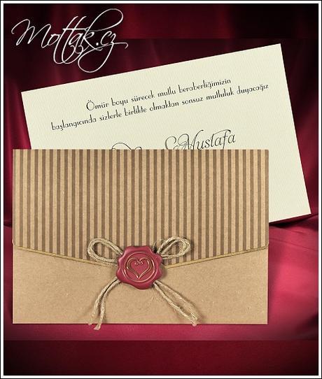 Svatební oznámení 5527 www.mottak.cz,