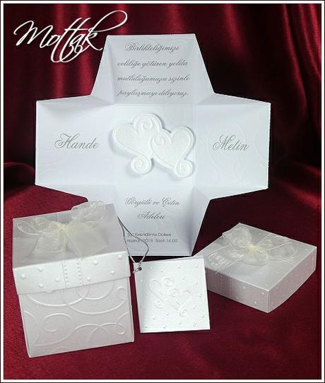 Svatební oznámení krabička 5358 www.mottak.cz,