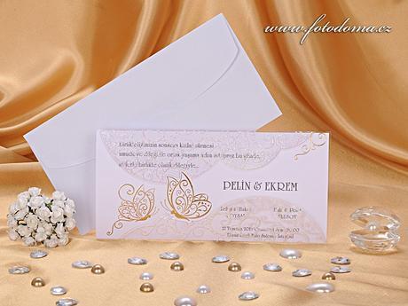 Svatební oznámení vzor 0885 www.fotodoma.cz,