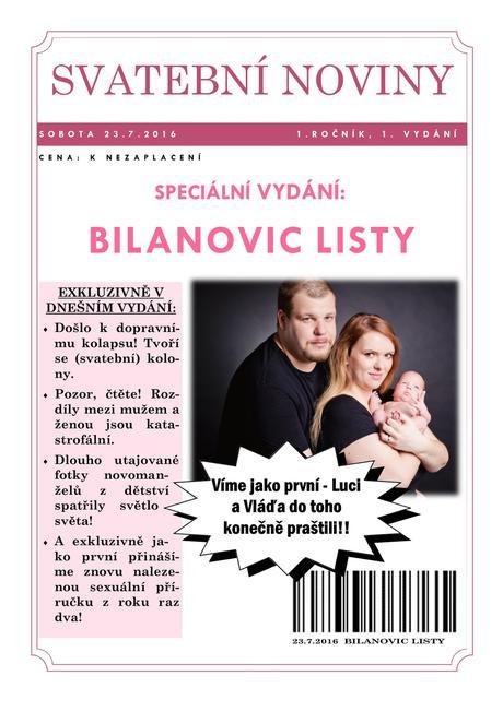 Svatební noviny,