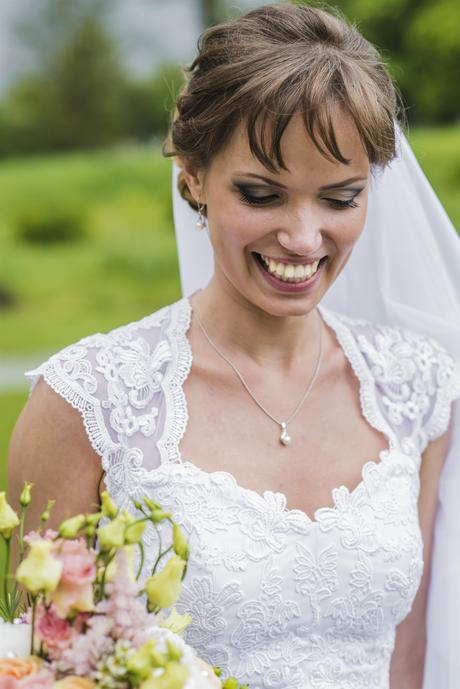 Jedinečné svadobné šaty pre vysoké nevesty, 38